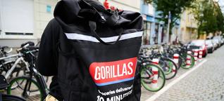 """Gorillas zum """"gefragtesten Arbeitgeber"""" gewählt"""