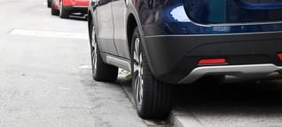 Parken auf dem Gehweg: Ohne Rücksicht