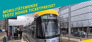 Ticketpreise: Wann ist Schluss mit lustig für die Mobilitätswende? (MDR WISSEN, MDR KULTUR)