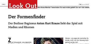 Porträt #1: Regisseur Anton Kurt Krause
