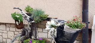 Traumhafter Blumenständer, ebenso dekorativ wie nachhaltig