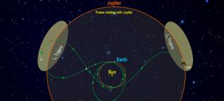 """NASA-Mission - Raumsonde """"Lucy"""" soll Trojaner am Jupiter erforschen"""