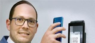 Neues Gerät: Einlass mit der 2G-Ampel