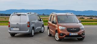 Erste Ausfahrt mit dem Opel Combo-e Life & Cargo - electrive.net