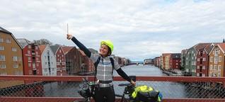 23 Tage, 2.250 Kilometer radelt eine Konstanzer Studentin für den guten Zweck: Jetzt ist sie am Ziel - und hat Feuer gefangen